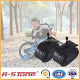 Tubo interno 12X1.95/2.125 de la bicicleta butílica de la alta calidad