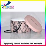 China-elegante schöne Büttenpapier-Zylinder-Schmucksache-verpackenkasten