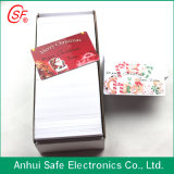 Schede stampabili di identificazione del PVC del getto di inchiostro