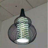 대중음식점을%s Latest Modern Metal Pendant Lamps Lighting 또는 3D Glass Shades를 가진 Club