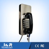 Telefono robusto, telefono di Servie della Banca, telefono pubblico