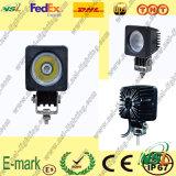 Dessus ! ! lumière de travail de 10W LED, lumière de travail de Creee LED, tache/lumière travail de l'inondation LED pour des camions
