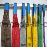 Tipo piano duplex dell'imbracatura della tessitura del poliestere/imbracatura/imbracature di sollevamento rotonde