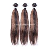 100グラムの人間の毛髪の束のOmbreの毛(FDX-YY-KBL)