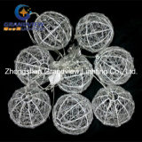 Nuovo Acrylic 240LED 7m Multi Color 8 Balls Decoration Lights