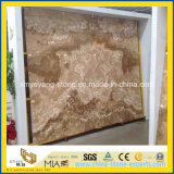 Natural Polished Yellow Onyx Slab para Background Wall