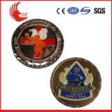 Pièce de monnaie bon marché en gros promotionnelle de logo en métal de souvenir