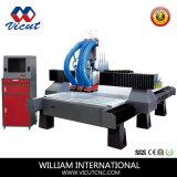 Router di legno di CNC con il commutatore automatico dell'asse di rotazione per falegnameria (VCT-1530ASC3)