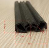 戸枠のゴムはプロフィールの透き間を塞ぐ