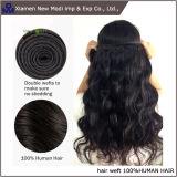 Armadura drenada doble del pelo humano de la extensión del pelo humano de la onda de la carrocería