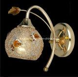 Lâmpada de parede do grânulo/luz de cristal com cristal (9195/1A)
