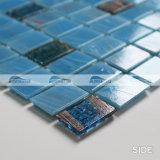 De blauwe Tegel van het Mozaïek van het Glas van de Smelting van de Band van de Stapel van de Mengeling Hete (BGZ011)