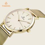贅沢なステンレス鋼の腕時計の人の女性の水晶は72226を見る