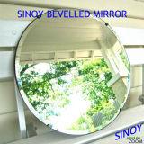 Зеркало серебра ванной комнаты круглой формы декоративное