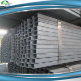 Tubos rectangulares cuadrados 50*25m m de acero de Q195 1.2m m para estructural