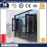 Qualitäts-hölzernes Korn-Aluminiumflügelfenster-Fenster