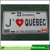 Passion New Product Car License Plate Frames