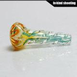 Tubulação do vidro de mão da colher