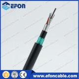 Трубопровода Fibra сердечника одиночного режима 4 кабель оптически бронированный