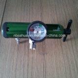 酸素タンクの調整装置0-15lpm Diss /Twoの小切手弁のアウトレット