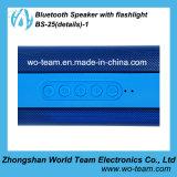 Mini altoparlante di Bluetooth con la torcia elettrica