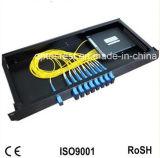 CATV 쪼개는 도구 1X8 플라스틱 상자 CATV FTTH 광섬유 PLC 쪼개는 도구
