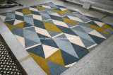 Handbüscheliger Teppich und Bereichs-Wolldecke (NP-039-D)