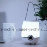 RGBW/Ww Bluetooth 스피커를 가진 휴대용 LED 책상용 램프