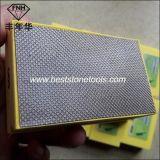 Almofadas da mão da resina HD-1 para o polonês fino de ferramentas do diamante