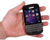 "Q10 téléphone QWERTY de WiFi du dual core 8MP 2GB+16GB de Blackberri Q10 initial initial 3.1 """