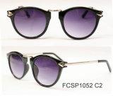 Glaces de Sun rondes de cru de rétro lunettes de soleil en gros de mode Chine