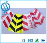 Cinta de advertencia de PVC para zonas de advertencia