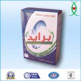 Caja de papel de embalaje de lavado detergente en polvo
