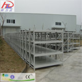 Justierbares Hochleistungs-ISO-anerkanntes Metallfach
