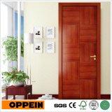 Oppeinのシンプルな設計MDFの木の内部の木製の平らなドア(MSPD31)