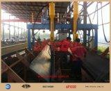 T/riga di saldatura automatica fascio H/di I macchina automatica di Weldng per la riga macchine di montaggio della struttura d'acciaio degli apparecchi per saldare del fascio/della struttura d'acciaio
