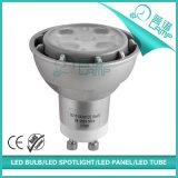 Proyector de aluminio de fundición a presión a troquel de la casa 3-7W GU10 LED