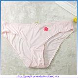 Venta caliente de la ropa interior de Breif Sólido inconsútil rosado