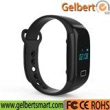 Het Slimme Horloge van Bluetooth van de Monitor van het Tarief van het Hart van Gelbert voor Androïde Ios van iPhone