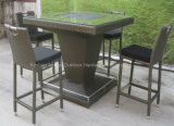 Bar esterno Table con Rattan Chair