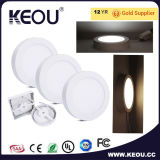 Ce/RoHS 고능률 에너지 절약 라운드 LED 지상 위원회 빛