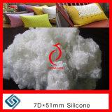 Poliestere che farcisce la fibra coniugata vuota all'ingrosso del silicone