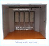 Cabine del rivestimento di spruzzo della polvere