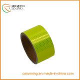 蛍光性の反射安全警告テープ