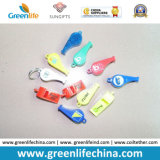 Cadeaux promotionnels colorés de sifflements d'ABS en plastique d'approvisionnement d'usine de qualité