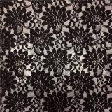 Cordón de la tela de la alineada del cordón/de la ropa del cordón/del ganchillo del algodón del ajuste del cordón