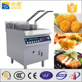 Рыбы и Chips Fryers с Double Baskets Induction Fry Machine