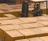 기계 깔판을 만드는 콘크리트 블록