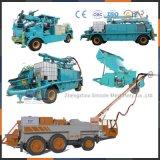 Zhengzhou-Fabriknasse Shotcrete-Maschine mit dem Falten-Teleskopischen Arm