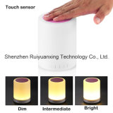 Intelligenter Touchable Bluetooth Lautsprecher mit LED-Lampe (Rosa)